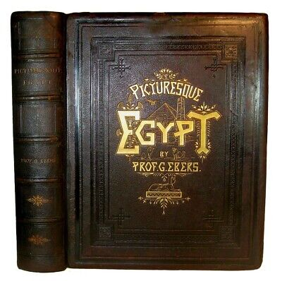 Antique PICTURESQUE EGYPT Egyptian ARCHAEOLOGY Nile PYRAMID Cairo ARABIAN Islam