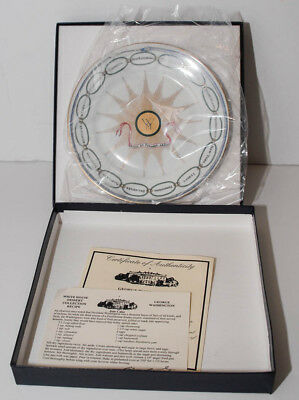 Obama Woodmere White House Dessert Collection - George Washington - China Plate