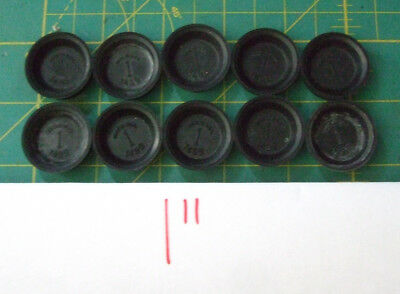 "Brake Wheel Cylinder Rubber Cup Marked 1"" Set of Ten 10                *US MADE*"