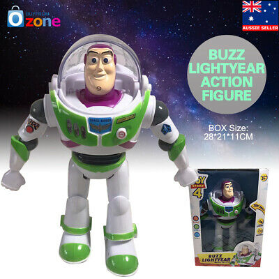 Buzz Lightyear Toy Story 4 Talking Walking Lighting Action Figure Toy