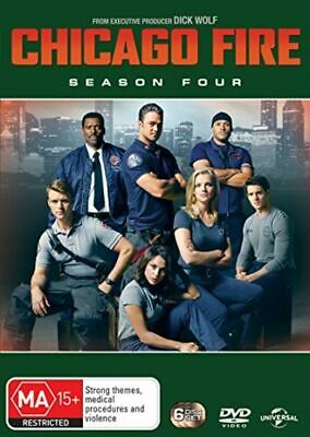 Chicago Fire: Season Four (DVD) R4 Australia New and Sealed