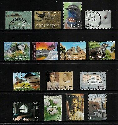 FINLAND mixed collection No.32, 1998-2006, used