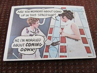 1968 Topps Vintage Trading Puzzle Card Rowan & Martin Laugh In #3 Excellent