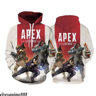Apex Legends Hoodies 3d Print Sweatshirt Hooded Long Sleeve Women