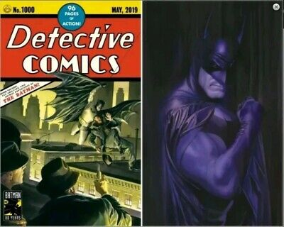 DETECTIVE COMICS #1000 Alex Ross Exclusive SET Trade Dress/Virgin PRE-SALE