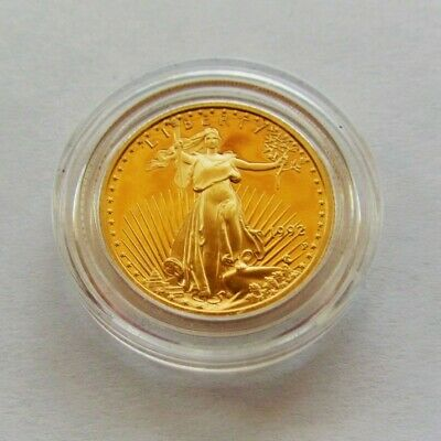 1992 American Gold Eagle Saint-Gaudens Liberty 1/4 Troy Ounce 10 Dollar Coin