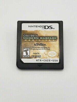 Call of Duty Modern Warfare Mobilized Nintendo DS Cart Only
