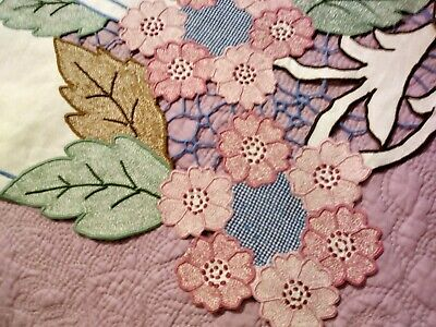 """Amazing Madeira Colorful Cutwork & Embroidered Tablecloth 68x86"""" Marghab Quality"""