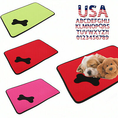 Dog Car Bed Pet Kennel Cushion Mat Crate Cage Pad Comfort Waterproof Outdoor Sun