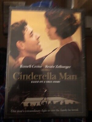 Cinderella Man (DVD, 2005, Widescreen) Russell Crowe.. Based on a True Story