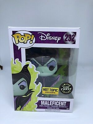 Funko Pop Disney Maleficent Hot Topic Exclusive Limited Glow Chase Edition # 232