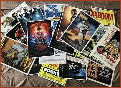 """(4) PACK POSTER SPECIAL - ANY (4) 12"""" x 18"""" POSTERS IN OUR STORE, NO EXCLUSIONS!"""