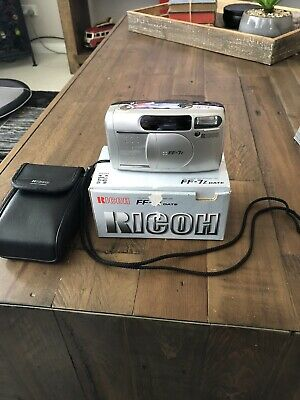 Ricoh FF-7Z Point And Shoot Vintage Film Camera Mju ii