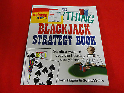 The Everything Blackjack Strategy Book By Hagen & Weiss ( Paperback Book)^