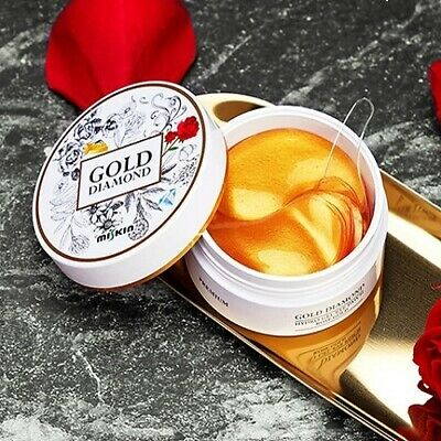 [Miskin] Gold Diamond Hydro Gel Eye Patch Rose Gold / Korean Cosmetics