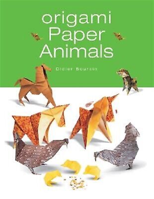 Origami Paper Animals by Boursin, Didier -Paperback
