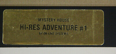 Apple II Computer Game - Mystery House