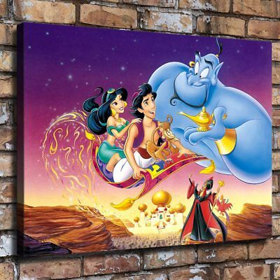 "16""x22""Disney HD Canvas print Painting Home Decor Picture Room Wall art Poster"