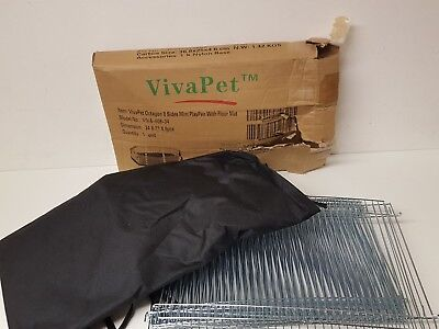 Pet Playpen Viva Pet 8 Sides Octagon Playpen Rabbits Puppies Kittens Small Pets