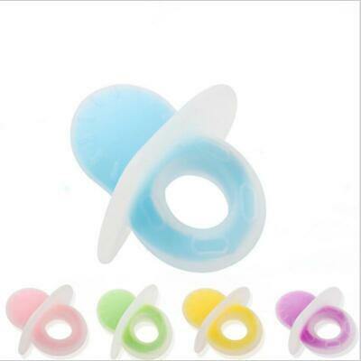 Infant Chew Dummy Ring Toy Baby Silicone Teether Teething Chewing Toys HD