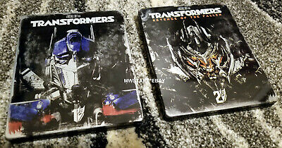 Transformers 4-Film Blu-ray Limited Edition Steelbook 1 2 3 4 Lot Michael Bay