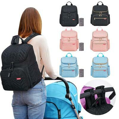 Multifunction Large Capacity Mummy Nappy Diaper Bag Baby Travel Nursing Backpack