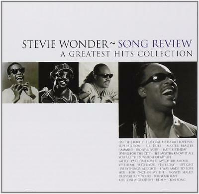 STEVIE WONDER Song Review -A Greatest Hits Collection NEW & SEALED CD MOTOWN POP