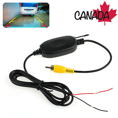 Rear View Video Transmitter 2.4G Wireless RCA Receiver For CAR Camera Monitor CA