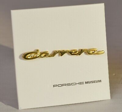 PORSCHE Carrera Metall Pin Original Porsche 48 x 4 mm Sakko Revers Ansteckpin