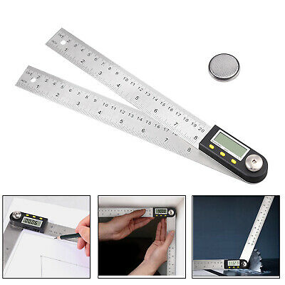 LCD Digital Inclinometer Protractor Spirit Level Angle Finder Gauge Meter 0~270°