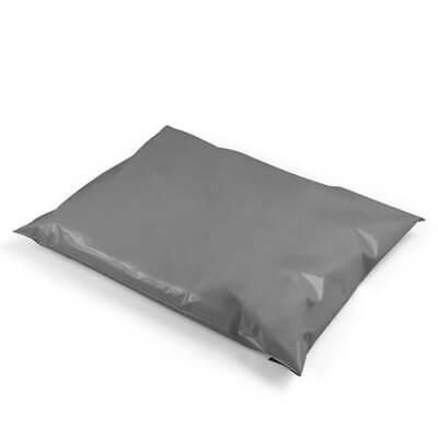 "50 BAGS 6"" x 9"" Strong Mailing Plastic Poly Postage QUALITY Bags Grey Self Seal"