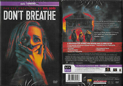 DVD - DON'T BREATHE avec JANE LEVY ( HORREUR ) / NEUF EMBALLE - NEW & SEALED