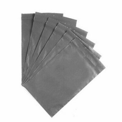 """50 BAGS 9"""" x 12"""" Strong Mailing Poly Postage Bags QUALITY Bags Grey Self Seal"""