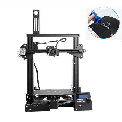 Creality Ender 3 Pro 3D Printer 220x220x250mm Meanwell Power DC 24V 1.75MM PLA