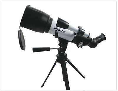 Visionking 70 MM Refractor Monocular Astronomical Telescope Moon Upright image