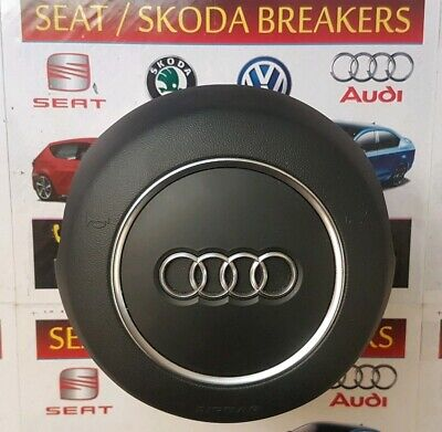 AUDI A3 RS3 S-LINE 2017-2019 GENUINE NEW DRIVER AIRBAG BLACK SMALL 8V0880201DN .