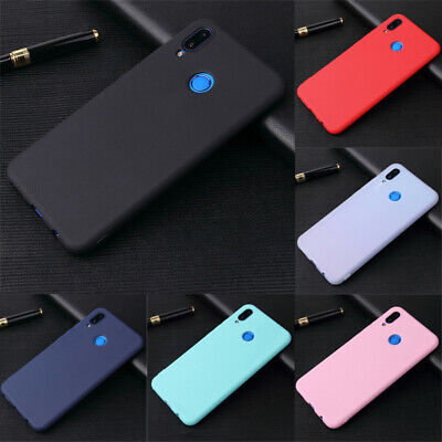 For Samsung Galaxy M30 A50 A30 A10 Shockproof Silicone Matte Soft TPU Case Cover