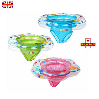 Baby Pool Float Toy Infant Ring Toddler Inflatable Ring Sit in Swimming Pool