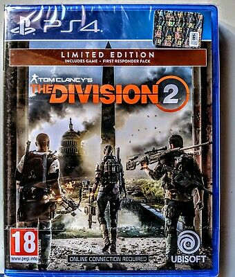 Videogames Tom Clancy The Division 2 Ps4 Playstation 4 Ita Limited Edition