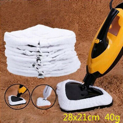 6X Universal Durable Steam Mop Heads Washable Re-Useable Floor Cloth Pad Replace
