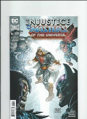 DC Comics Injustice vs Masters of The Universe 6 NM-/M 2018