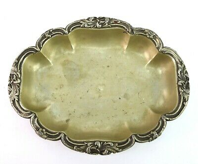 Antique Victorian Style Dry Fruit Dining Serving Tray old Decorative G26-106 AU