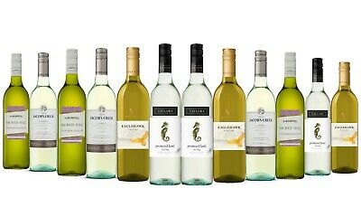 AU Mixed Riesling White Wine 5-Star Winery 12 x 750mL - FAST & FREE SHIPPING