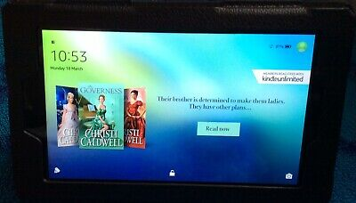 """Amazon Kindle Fire 7"""" Tablet 16GB Wi-Fi with Alexa, (7th Gen) - Yellown"""
