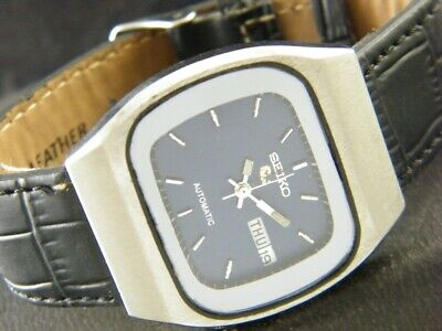 VINTAGE SEIKO 5 AUTOMATIC JAPAN MEN'S DAY/DATE WATCH 201-a120850-6