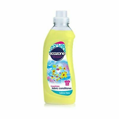 Ecozone Fabric Conditioner - Happiness [1Ltr] (8 Pack)