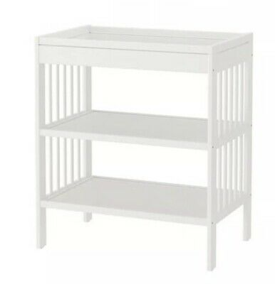 Ikea Baby Change Table - Gulliver - White PU Frenchs Forest NSW Rrp $99