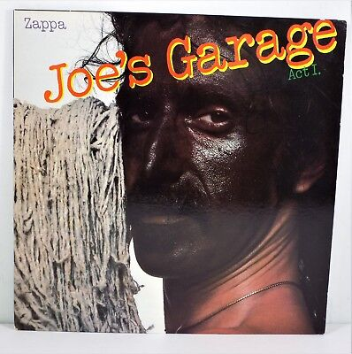 1979 Frank Zappa LP * Joe's Garage Act I with Insert  SRZ-1-1603