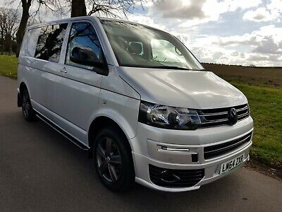 Vw Transporter T5.1 T32 Highline Tdi Bmt Auto Dsg In Silver Nappa Leather