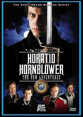Horatio Hornblower The New Adventures DVD 2003 Ioan Gruffudd Robert Lindsay NEW
